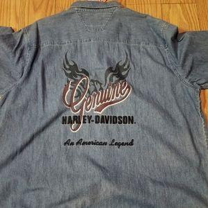 Genuine Harley-Davidson Denim Shirt
